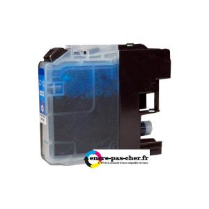Compatible Brother LC123 Cyan pas cher