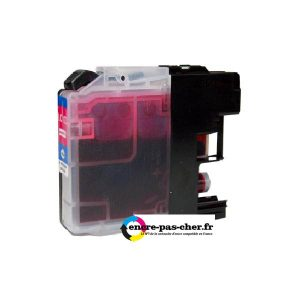 encre pas cher Brother LC123 Magenta