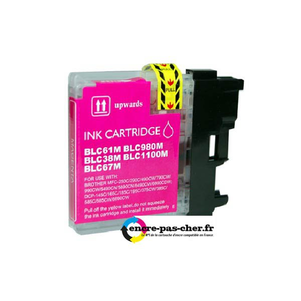 Brother LC980-1100 Magenta.